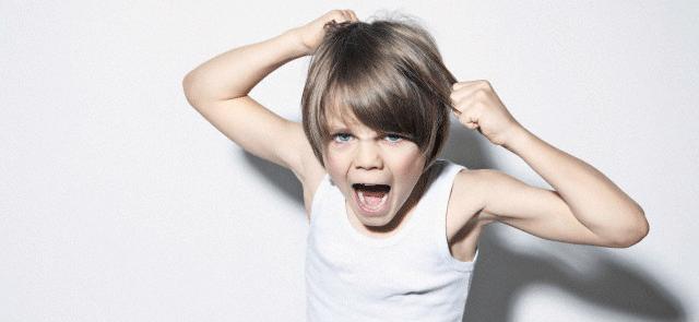 Enseñar a controlar la rabia en los niños