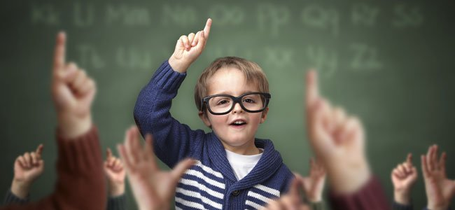 Niño con asertividad